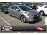 2013 Titanium Gray Metallic Hyundai Elantra Coupe SE #78697989