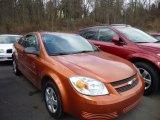 2007 Sunburst Orange Metallic Chevrolet Cobalt LS Coupe #78698317