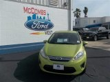 2013 Lime Squeeze Ford Fiesta SE Sedan #78698160