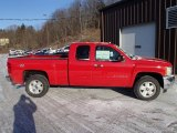 2013 Victory Red Chevrolet Silverado 1500 LT Extended Cab 4x4 #78698307