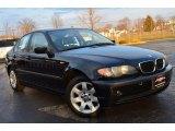 2004 Jet Black BMW 3 Series 325xi Sedan #78698302