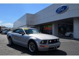 2006 Satin Silver Metallic Ford Mustang GT Premium Convertible #78698299