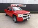 2011 Victory Red Chevrolet Silverado 1500 LS Crew Cab #78698609