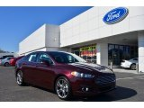 2013 Bordeaux Reserve Red Metallic Ford Fusion Titanium #78698297