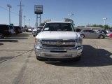 2013 Summit White Chevrolet Silverado 1500 LT Crew Cab #78698845