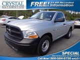 2012 Bright Silver Metallic Dodge Ram 1500 ST Regular Cab #78698735