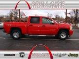 2011 Victory Red Chevrolet Silverado 1500 LS Crew Cab 4x4 #78698123