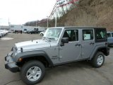 2013 Billet Silver Metallic Jeep Wrangler Unlimited Sport 4x4 #78764184