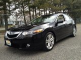 2010 Crystal Black Pearl Acura TSX V6 Sedan #78764595