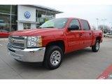 2012 Victory Red Chevrolet Silverado 1500 LT Crew Cab #78764170