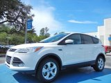 2013 Oxford White Ford Escape SE 2.0L EcoBoost #78763895