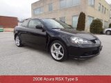 2006 Nighthawk Black Pearl Acura RSX Type S Sports Coupe #78764025