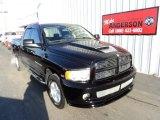 2004 Black Dodge Ram 1500 SLT Sport Quad Cab 4x4 #78764563