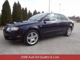 2008 Deep Sea Blue Pearl Effect Audi A4 2.0T quattro Sedan #78764022