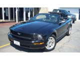 2007 Black Ford Mustang V6 Premium Convertible #7858498