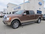 2012 Golden Bronze Metallic Ford F150 Lariat SuperCrew 4x4 #78764011
