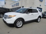 2013 Oxford White Ford Explorer XLT 4WD #78764009