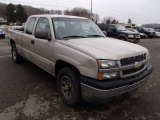 2005 Sandstone Metallic Chevrolet Silverado 1500 LS Extended Cab 4x4 #78764001