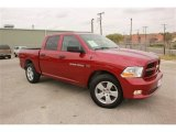 2012 Deep Cherry Red Crystal Pearl Dodge Ram 1500 Express Crew Cab #78763842