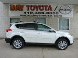 2013 Blizzard White Pearl Toyota RAV4 Limited AWD #78763815