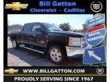 2013 Black Chevrolet Silverado 1500 LT Crew Cab 4x4 #78764490