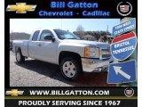 2013 Silver Ice Metallic Chevrolet Silverado 1500 LT Extended Cab 4x4 #78764489