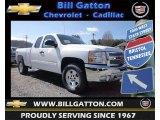 2013 Summit White Chevrolet Silverado 1500 LT Extended Cab 4x4 #78764488