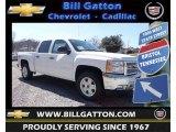 2013 Summit White Chevrolet Silverado 1500 LT Crew Cab 4x4 #78764487