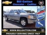 2013 Graystone Metallic Chevrolet Silverado 1500 LT Crew Cab 4x4 #78764485