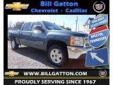 2013 Blue Granite Metallic Chevrolet Silverado 1500 LT Crew Cab 4x4 #78764484