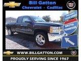 2013 Blue Ray Metallic Chevrolet Silverado 1500 LT Extended Cab 4x4 #78764480