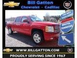 2013 Victory Red Chevrolet Silverado 1500 LT Crew Cab 4x4 #78764474