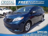2011 South Pacific Blue Pearl Toyota Sienna  #78764330