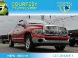 2004 Flame Red Dodge Ram 1500 ST Quad Cab #78764464