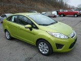 2013 Lime Squeeze Ford Fiesta SE Sedan #78763930