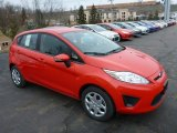2013 Ford Fiesta Race Red