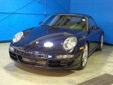 2007 Porsche 911 Midnight Blue Metallic