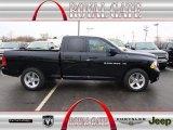 2012 Black Dodge Ram 1500 ST Quad Cab #78824617