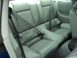 2006 Ford Mustang GT Premium Coupe Rear Seat