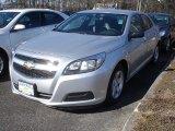2013 Silver Ice Metallic Chevrolet Malibu LS #78824518