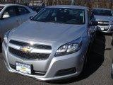 2013 Silver Ice Metallic Chevrolet Malibu LS #78824512