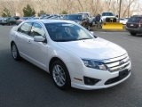 2011 White Platinum Tri-Coat Ford Fusion SEL V6 #78824875