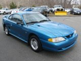 1994 Bright Blue Metallic Ford Mustang V6 Coupe #78824872
