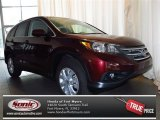 2013 Basque Red Pearl II Honda CR-V EX AWD #78824576