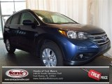 2013 Twilight Blue Metallic Honda CR-V EX-L #78824574