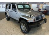 2013 Billet Silver Metallic Jeep Wrangler Unlimited Oscar Mike Freedom Edition 4x4 #78824819