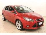 2012 Red Candy Metallic Ford Focus Titanium 5-Door #78824811