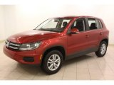2012 Volkswagen Tiguan Wild Cherry Metallic