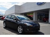 2012 Black Ford Focus Titanium 5-Door #78851936