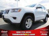 2014 Bright White Jeep Grand Cherokee Laredo #78851922